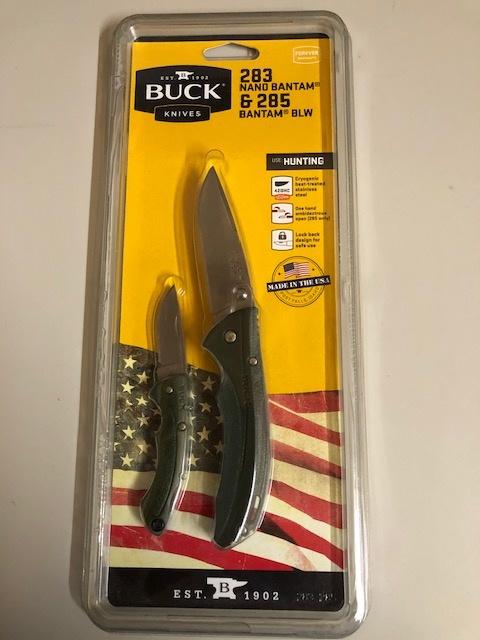 Buck - 283 Nano Bantam & 285 Bantam BLW - Combo pack
