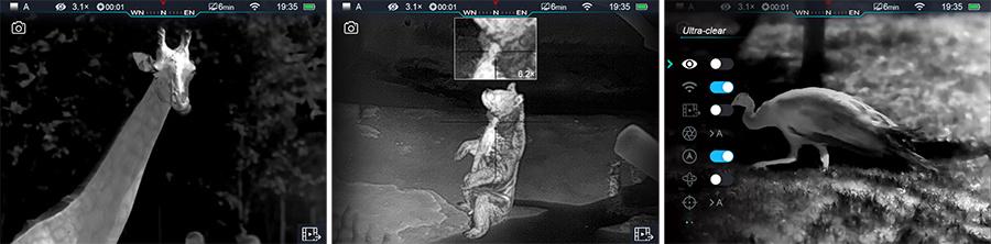 InfiRay Warmtebeeldcamera Riflescope Tube Series
