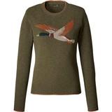 Parforce Ladies sweater olive / duck motif