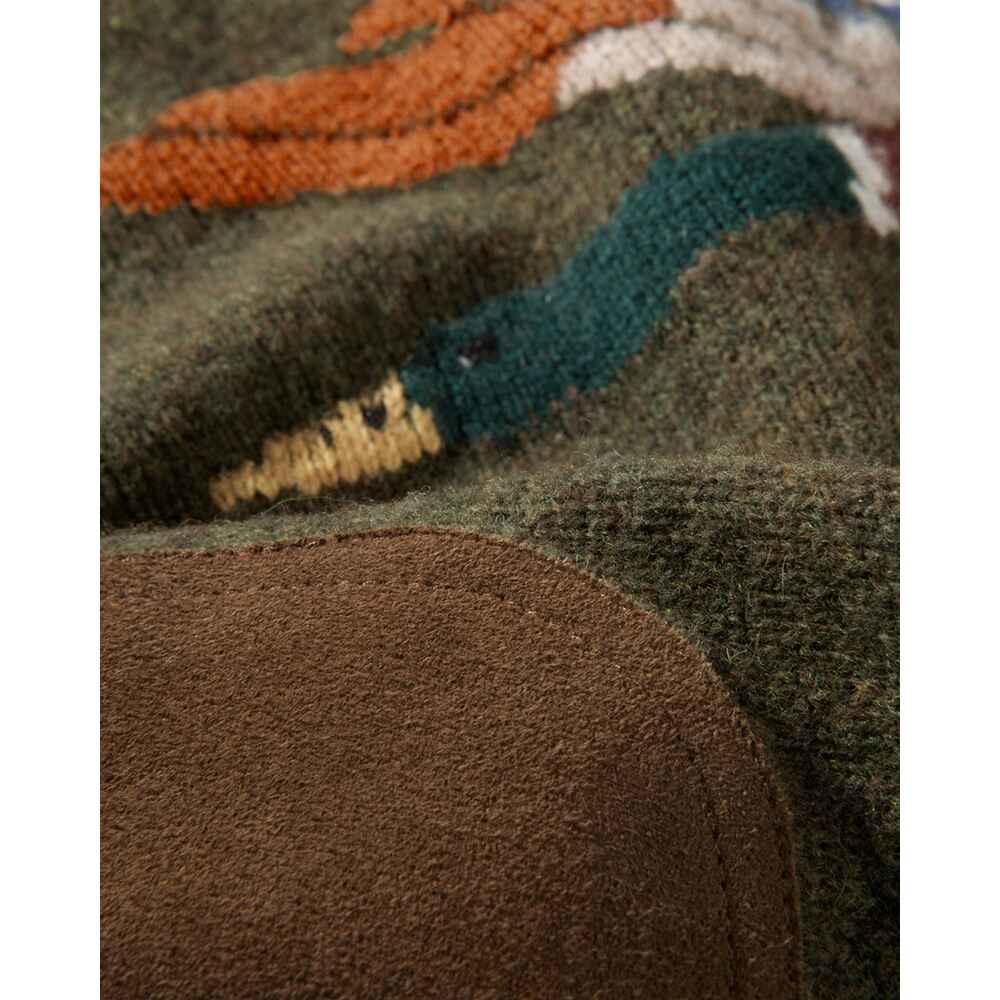 Parforce Damessweater olijf / eend motief
