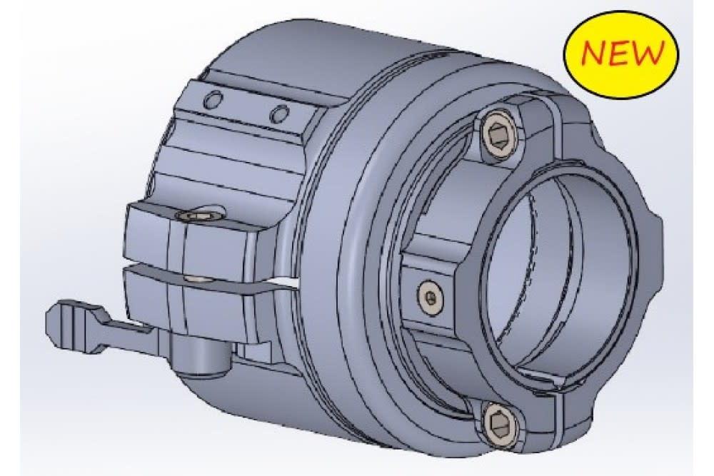 Rusan Einteiliger Q-R-Adapter für Pulsar Krypton (mit Bildschirmpositionierung)