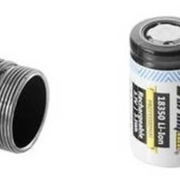 Tiara C1 Pro Magneet USB + 18350 XP-L Wit