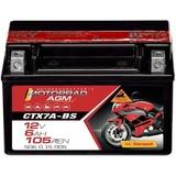 Panther AGM CTX7A-BS Motorradbatterie