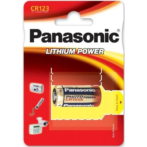 Panasonic Photo Power CR123 Lithium
