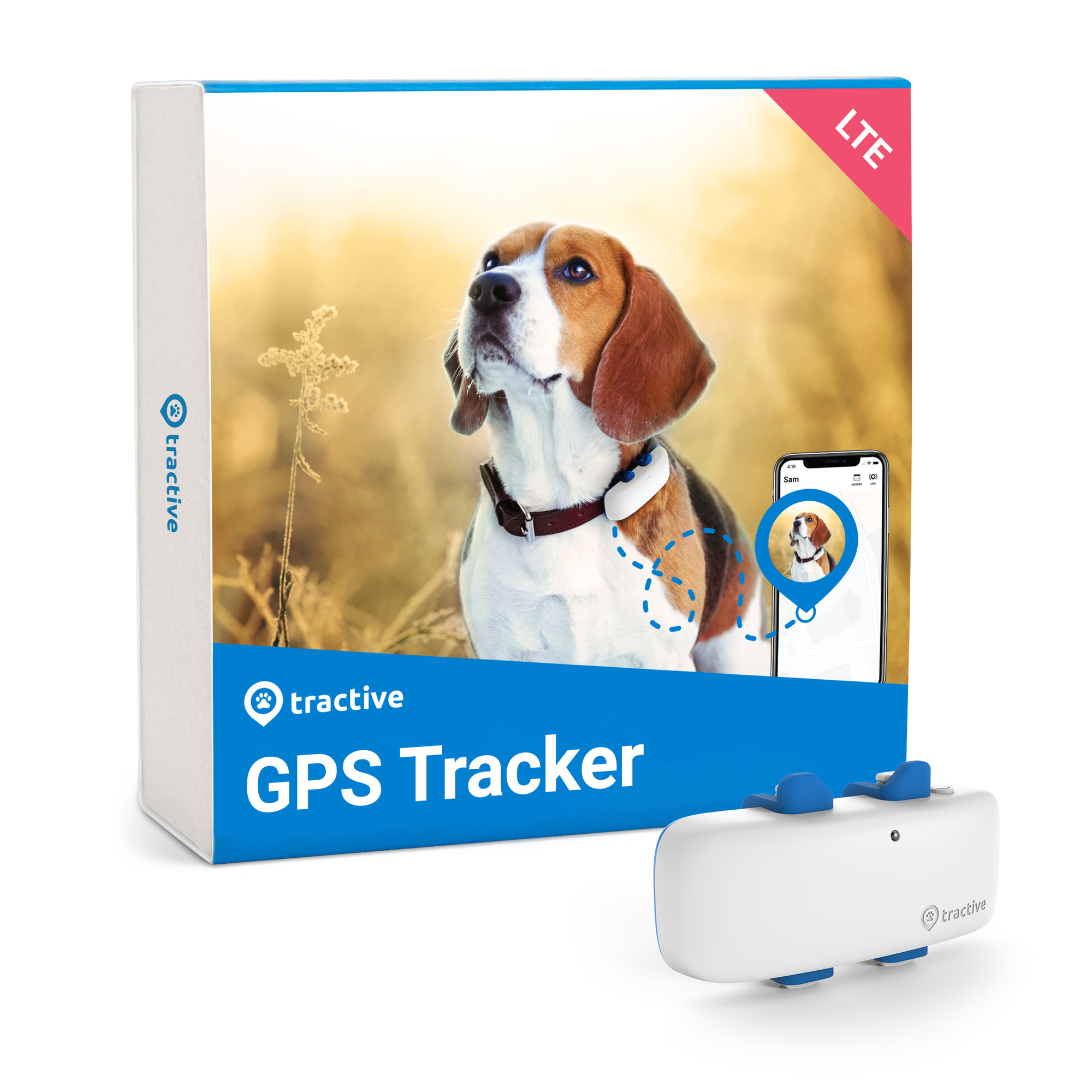 Tractive GPS Tracker for Dogs