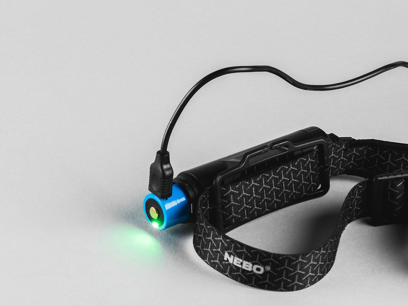 Nebo Stirnlampe Einstein 1000 Flex Wiederaufladbar