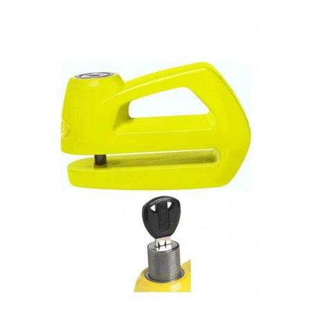 ABUS Schijfremslot Element 285 Geel 5 mm