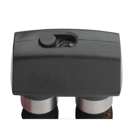AXA Vouwslot Foldable 600 95cm met houder donkergrijs