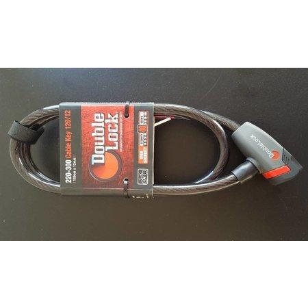 DoubleLock Kabelslot Cable Key 120/12 - 120 CM - 12 MM