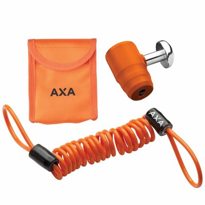 AXA Problock ART 4 schijfremslot oranje