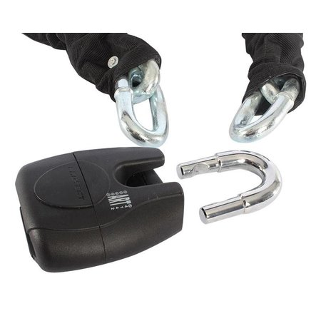Pro-tect Kettingslot Diamond voor motor met ART-5 keurmerk - 150 CM - versterkte cilinder