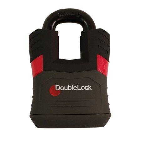 DoubleLock Hangslot Padlock RED - ART-4 keurmerk