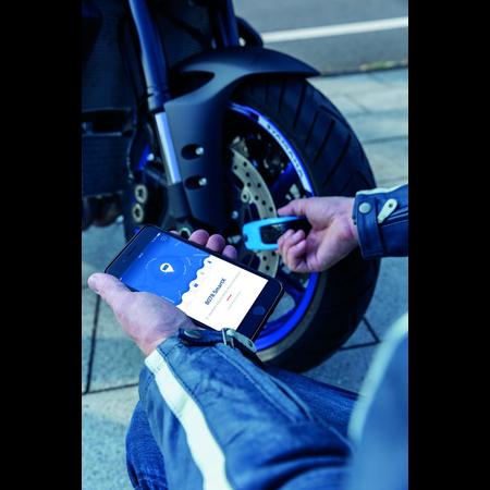 ABUS Granit Detecto SmartX 8078 schijfremslot Blue
