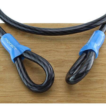 Pro-tect Kabelslot Cobalt 2,5 meter lang - ook geschikt als bootslot