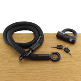Tex-Lock Kabelslot Textielslot Eyelet Zwart S U-Lock