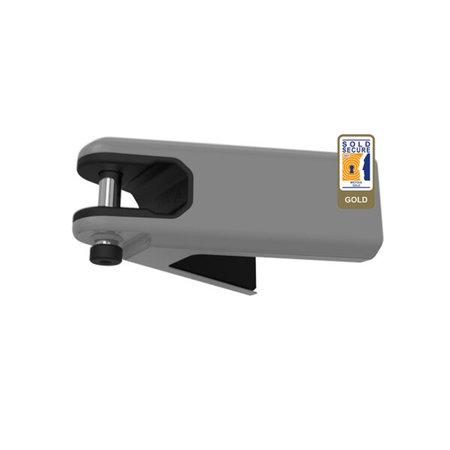Hiplok Airlok-slot voor Muurbevestiging met ART-2 keurmerk - lichtgrijs