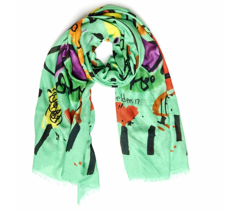 """Bruna"" scarf by Selden"