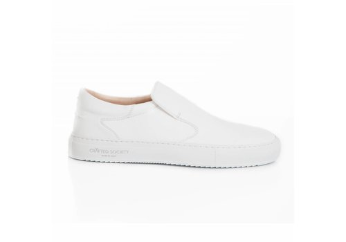 Como Slip-on White Safiano