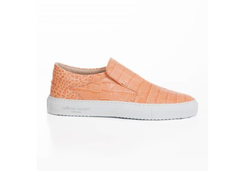 Como Slip-on Coral  croc-effect