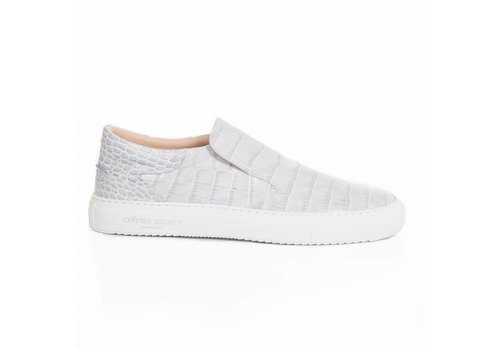 Como Slip-on grey Gabon effect - 3 pairs LEFT