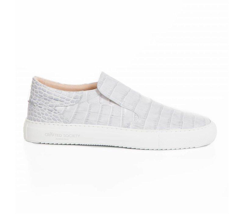 Como Slip-on  Grey croc-effect