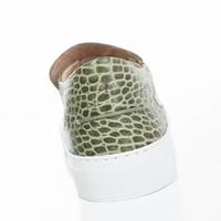NEW Como Slip-on Gabon croc
