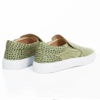 NEW Como Slip-on Gabon croc - Pre-order