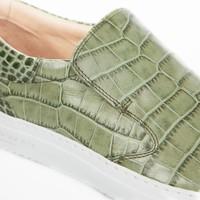 Como Slip-on Gabon croc