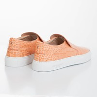 Como Slip-on Coral croc-effect