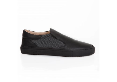 Como Slip-on canvas/saffiano