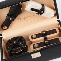 Bespoke hand made shoe care kit