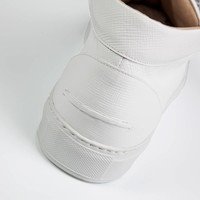 RICO MID - ALL WHITE SAFIANO