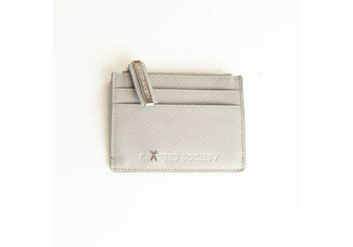 Sauro Cardholder  - Light Grey