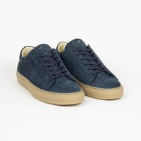 NEW Mario Low refined - Navy w/ gum rubber