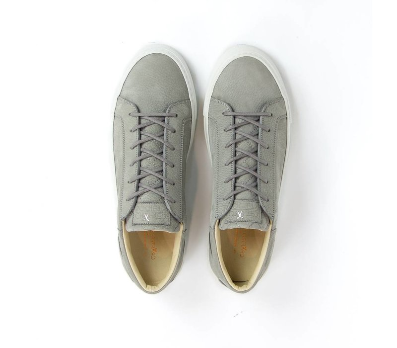 NEW Mario Low refined - light grey Nubuck