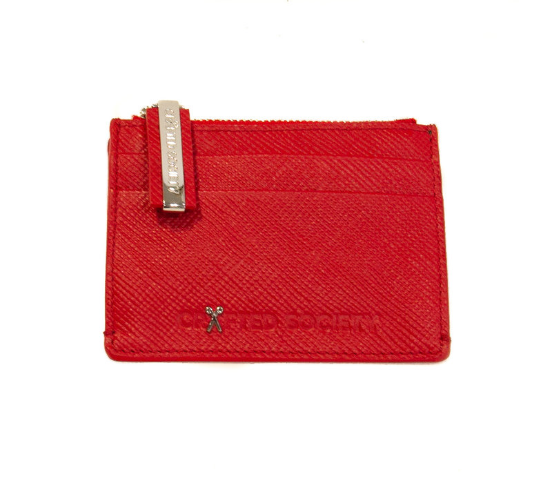 Sauro Cardholder  - Ruby red