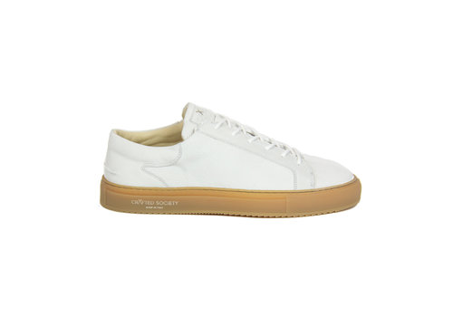 NEW Mario Low refined - White nubuck gum rubber