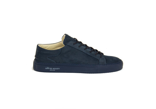 NEW Mario Low refined - All Navy nubuck