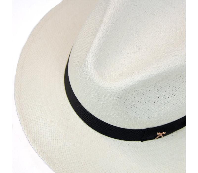 Panama Hat  - Black band