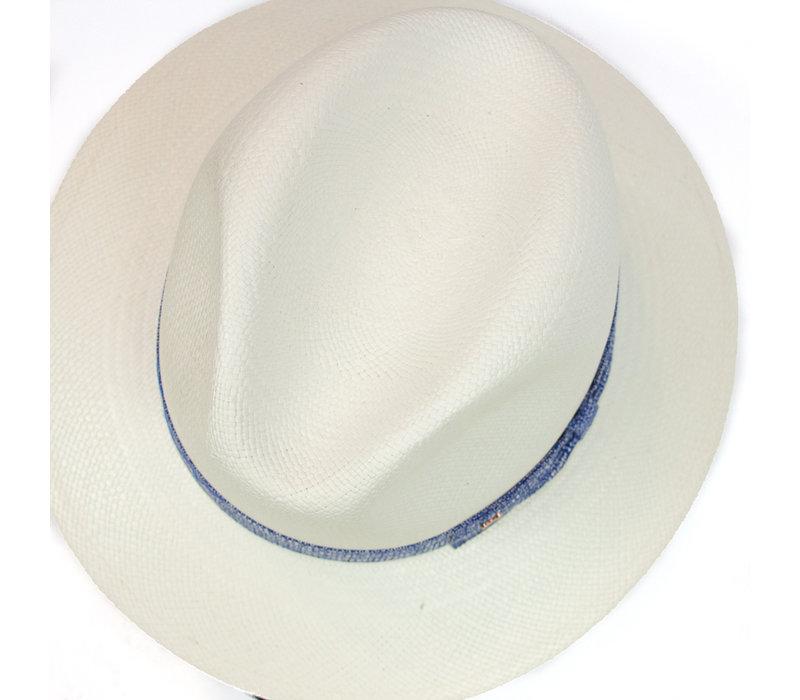 Panama Hat  - Blue band
