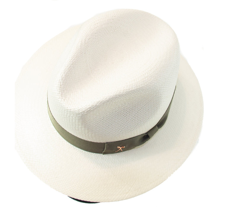 Panama Hat  - Truffle band