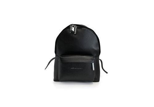 Skye Backpack  - All black mini backpack