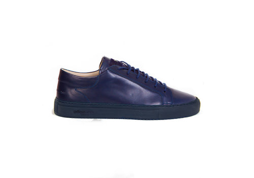 Mario Low refined -Navy with navy outsole