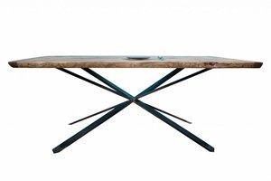 FraaiBerlin Industrial Tisch aus Bauholz Britta 180 x 96 cm