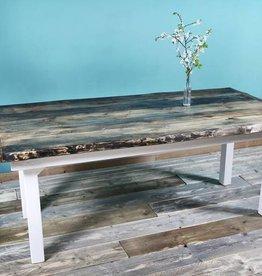 FraaiBerlin Bauholz Tisch im Landhaus-Stil Frida 180x90cm