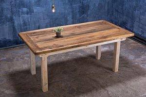 FraaiBerlin Bauholz Tisch Vintage Stil Jasmijn