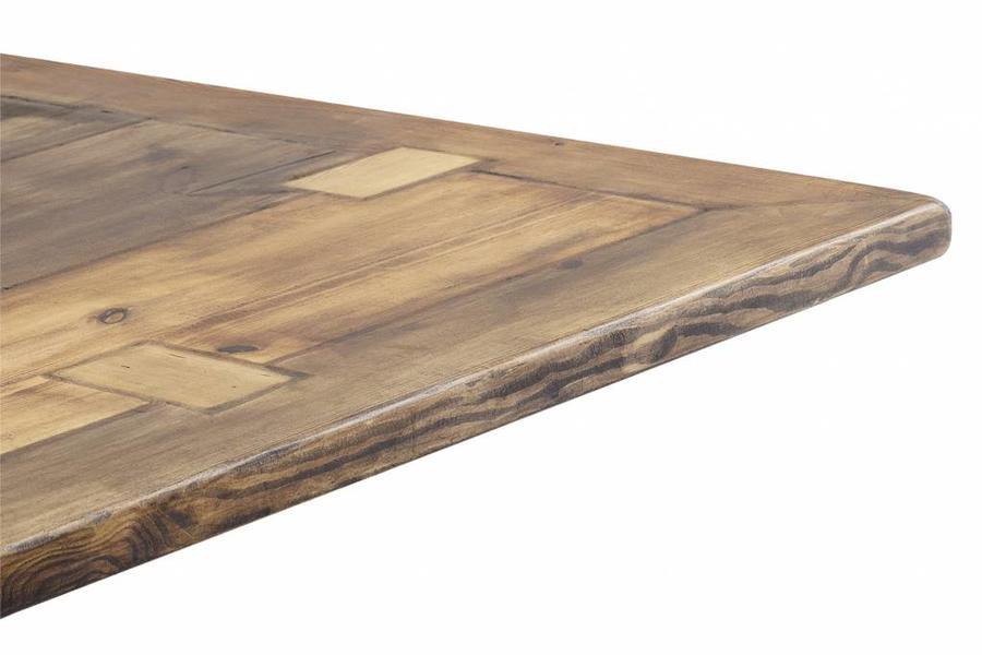 FraaiBerlin Esstisch Bauholz Tisch Susanne mit Noah Landhausgestell 180x100cm