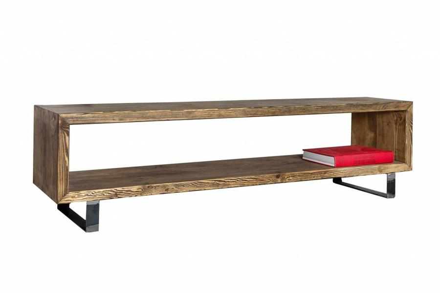 FraaiBerlin Lowboard Novan aus Bauholz