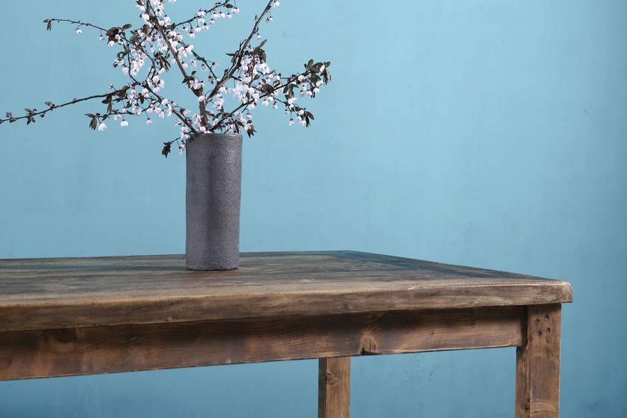 FraaiBerlin Landhaus Tisch aus Bauholz Dilan