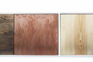 FraaiBerlin Sideboard Malia aus Bauholz & Eisen 200x60x40cm